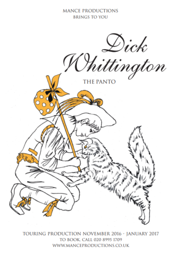 Dick Whittington - A new adaption of an old classic, the tale of a boy and his cat in search of adventure. Packed full of fun, laughter, and entertainment for all.